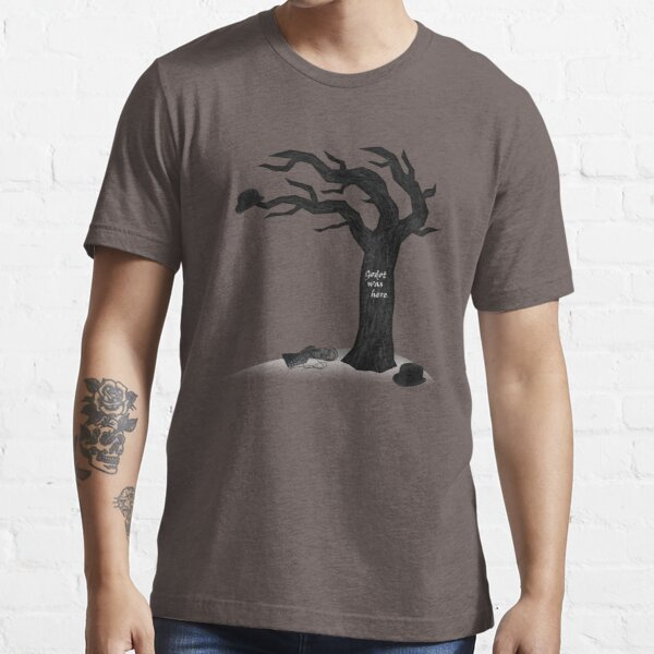 Waiting for Godot - Godot Was Here Essential T-Shirt