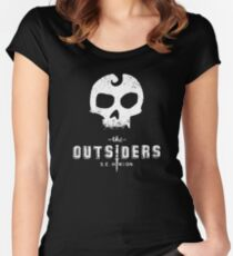 The Outsiders Women's Fitted Scoop T-Shirt