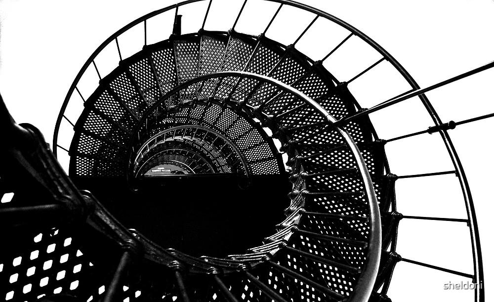"""Downward Spiral"" by sheldoni"