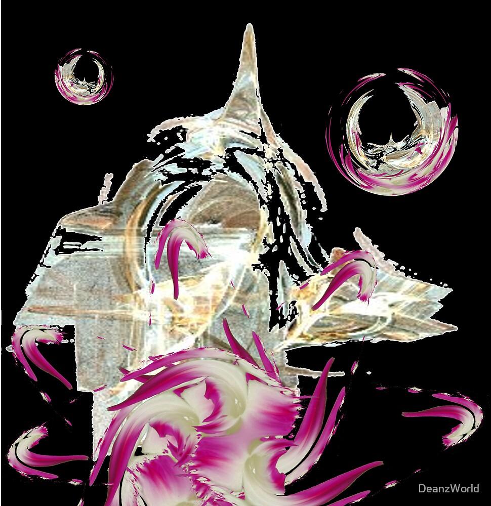 Fleur Abstract by Dean Warwick