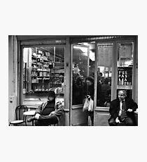 Bar Tabac, Rue Mouffetard, Paris, December 2004 Photographic Print