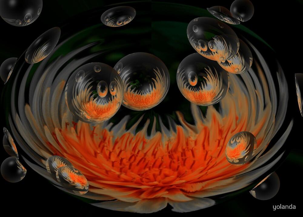 Sunburst Bubbles by yolanda