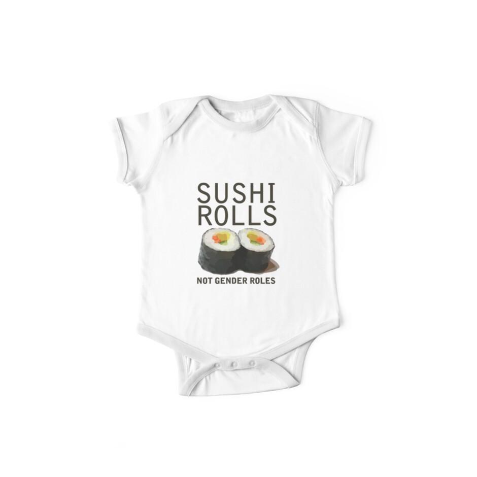 Sushi Rollen nicht Gender Rollen von BubbSnugg LC