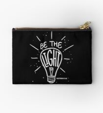 Be The Light - Matthew - Christian Bible Verse  Studio Pouch