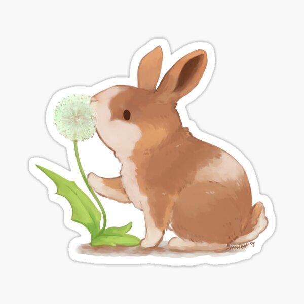 Spring Bun Sticker