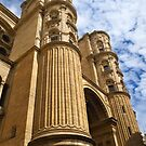Ribbed Columns, Malaga Cathedral by wiggyofipswich