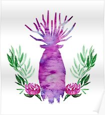 Great Forest Spirit - Peony Poster