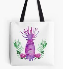 Great Forest Spirit - Peony Tote Bag