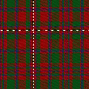 MacKinnon Clan/Family Tartan  by Detnecs2013