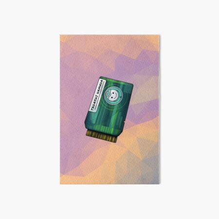 Green Chip Art Board Print