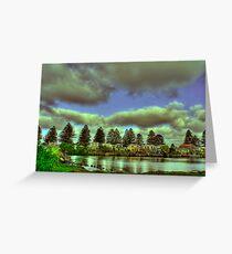 Port Fairy Wharf Greeting Card