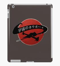 Space Cowboy - Red Sun iPad Case/Skin
