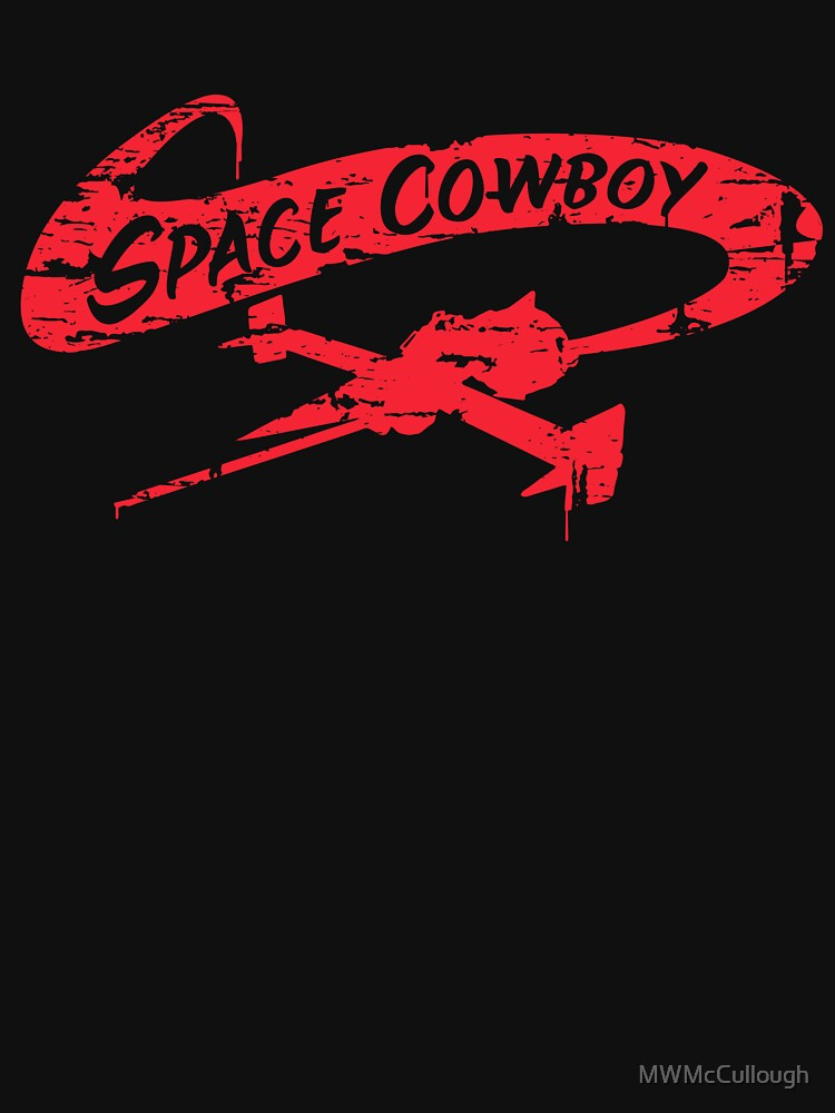 Space Cowboy - Distressed Red | Women's T-Shirt