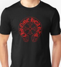 chrome hearts symboll red Unisex T-Shirt