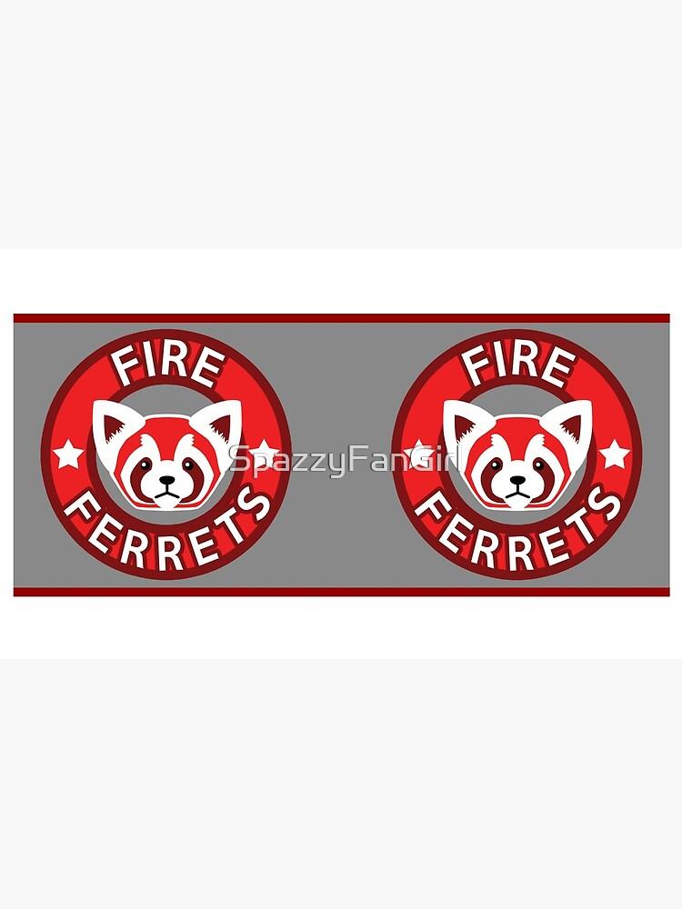 Feuer Frettchen BECHER von SpazzyFanGirl