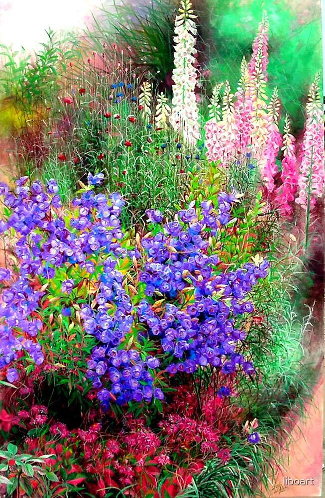 Windbell flower by liboart