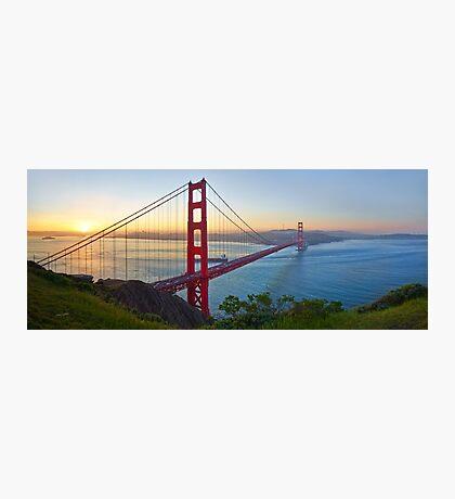 Golden Gate Glow Photographic Print