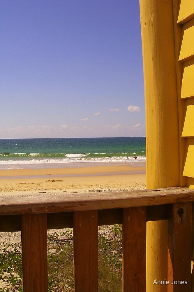 The beach shack by Annie Jones