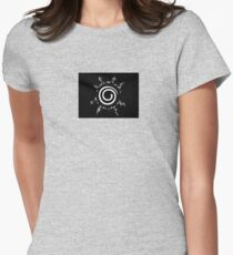 8 Trigram Seal Design - NARUTO Womens Fitted T-Shirt