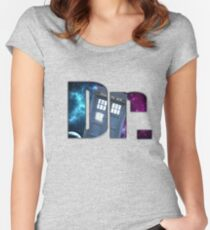 Dr....Who? Women's Fitted Scoop T-Shirt