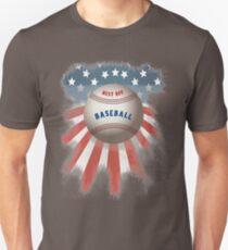 baseball abschlag fänger sport team usa u.s. amerika school no best baseball better Unisex T-Shirt