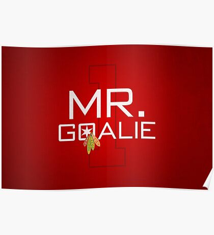 Mr. Goalie Poster
