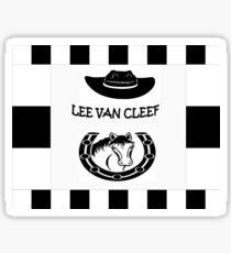 Lee van cleef Sticker