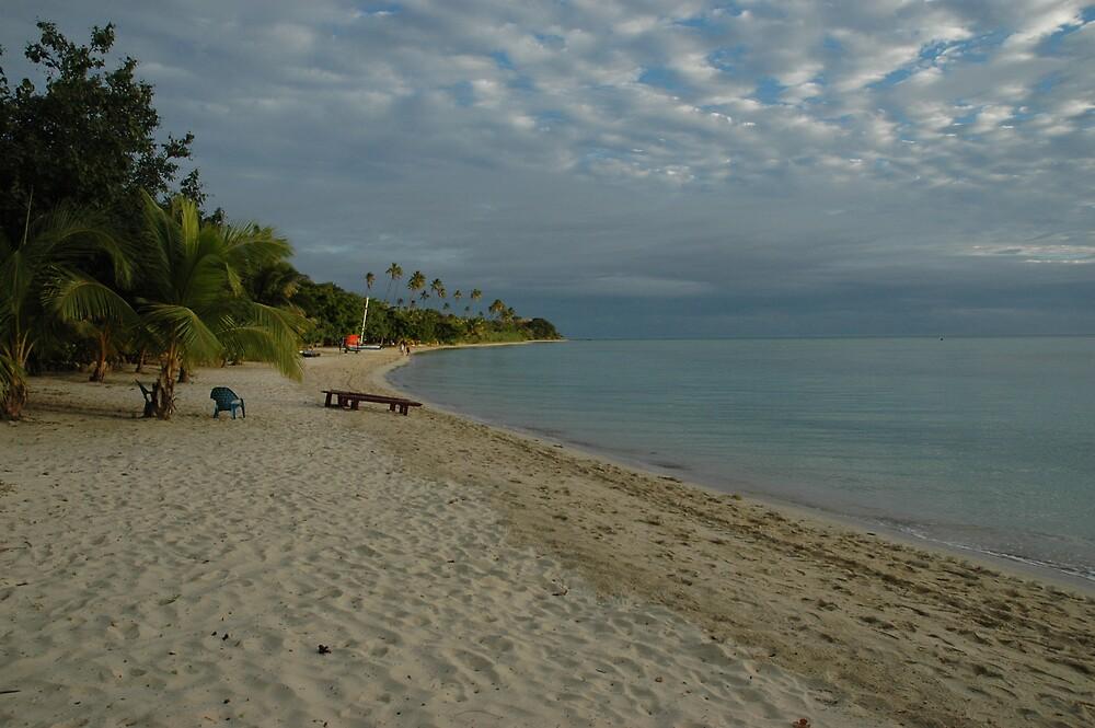 Fiji - Plantation Island Resort Beach by moocow