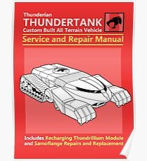 Thundertank Service and Repair Manual Poster