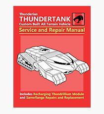 Thundertank Service and Repair Manual Photographic Print