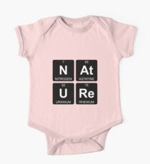 N At U Re - Nature - Periodic Table - Chemistry One Piece - Short Sleeve