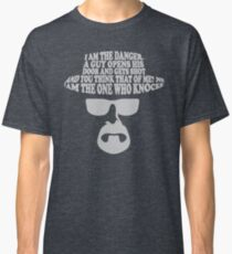 I am the One Who Knocks Picture Classic T-Shirt