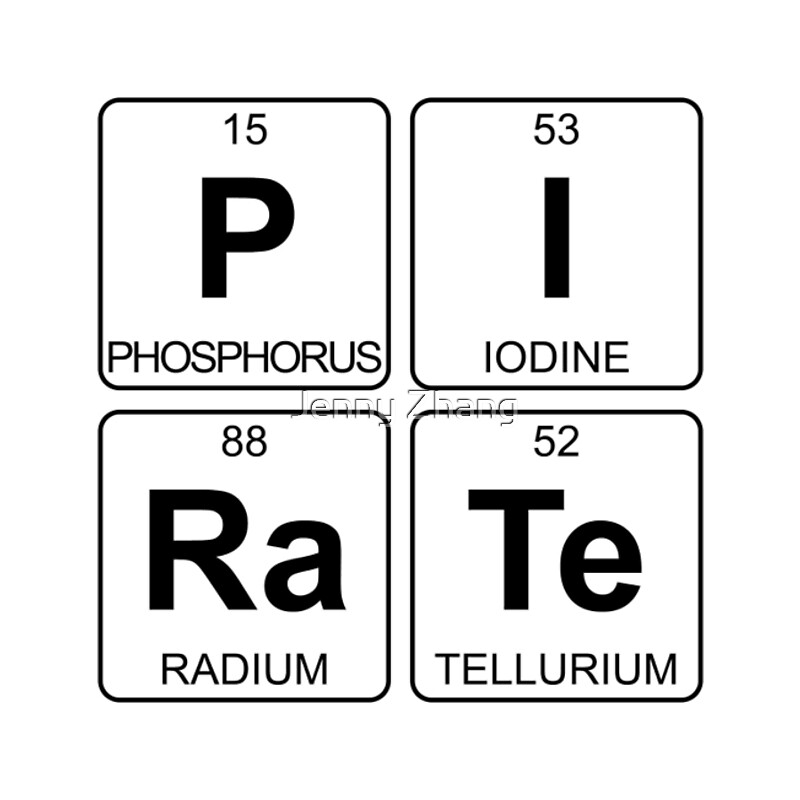 Periodic table ra periodic table periodic table of elements and p i ra te pirate periodic table chemistry laptop sleeves by urtaz Image collections