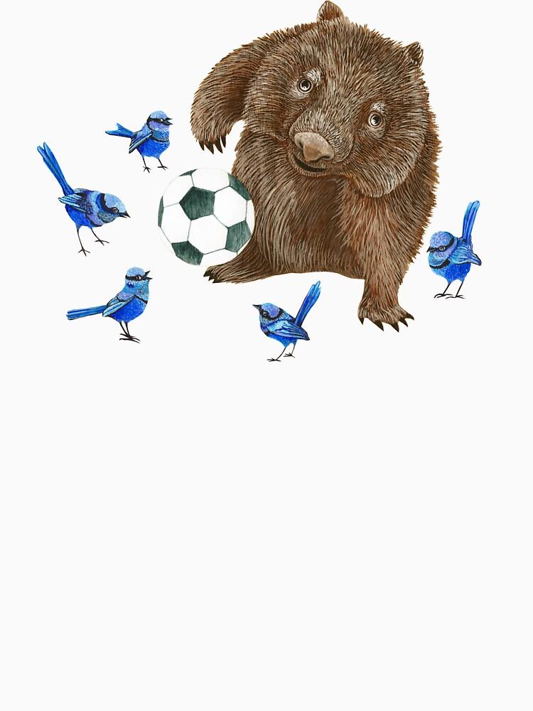 Wrens football Wombat by Ruta