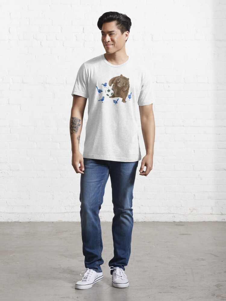 Alternate view of Wrens football Wombat Essential T-Shirt