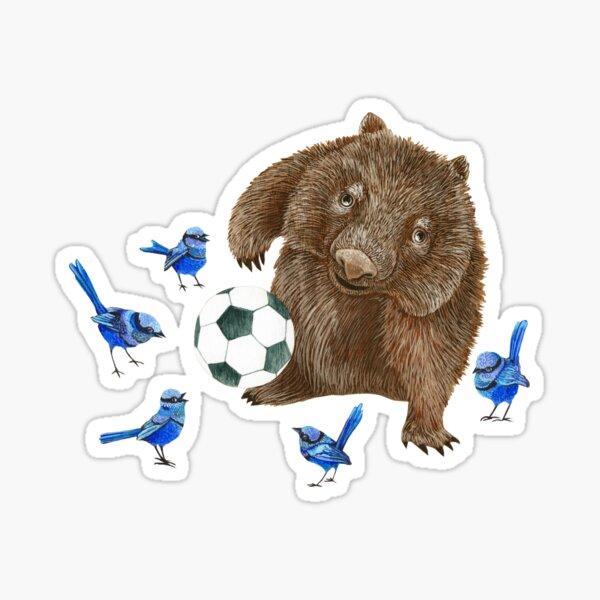 Wrens football Wombat Sticker
