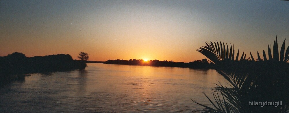 Nile sunset by hilarydougill