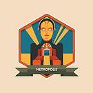 Metropolis Badge by Simon Alenius