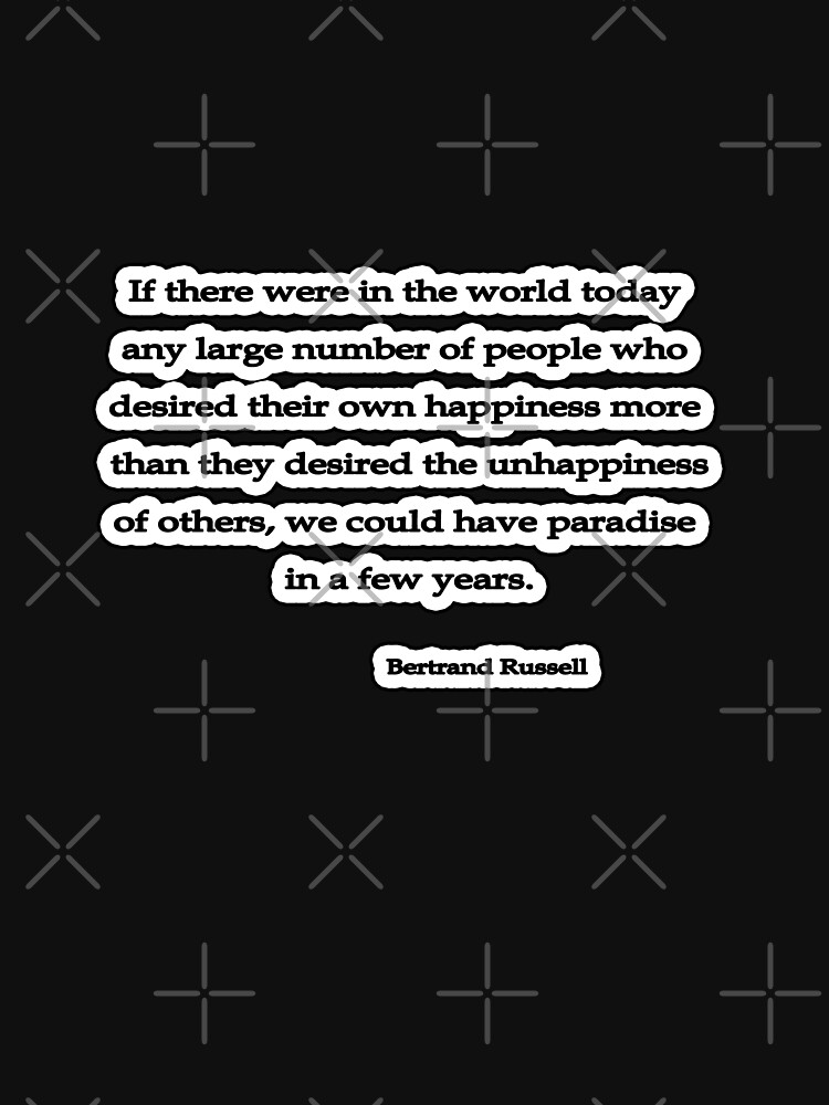 Desire, Bertrand Russell  by insanevirtue
