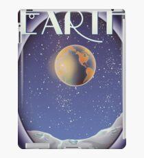 Terran 1 System Earth sci-fi travel poster iPad Case/Skin