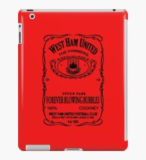 west ham united-merah iPad Case/Skin