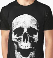 skull open mouth illustration T-Shirt  Graphic T-Shirt