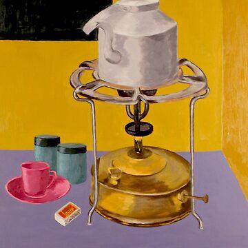 Tea Prepration kitchen Objects by Rampatil