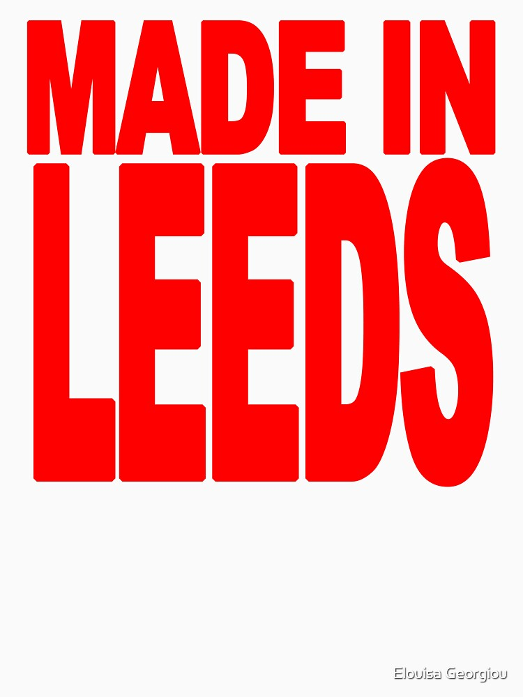 Made in Leeds by MissGeorgiou