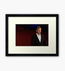 Viggo Mortensen at Rome film Festival Framed Print