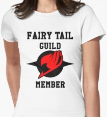Fairy Tail Guild Member (red & black) T-Shirt