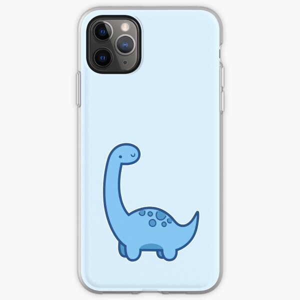 Cute Dino iPhone Soft Case