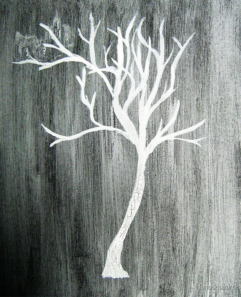 Slender Miss-Tree of Life V by lunatiqueart
