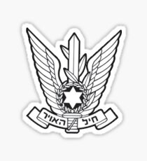 Israel Air Force Sticker