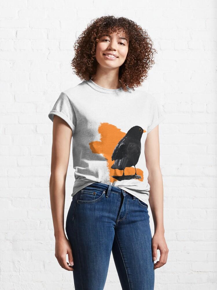 Alternate view of Blackbird fly Classic T-Shirt